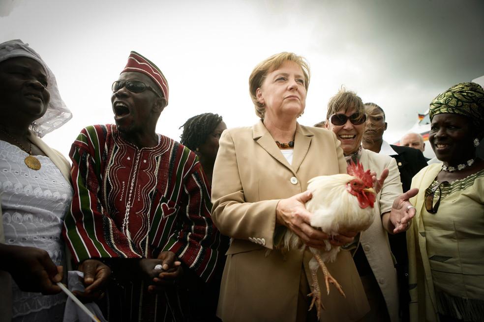 Merkel in Africa