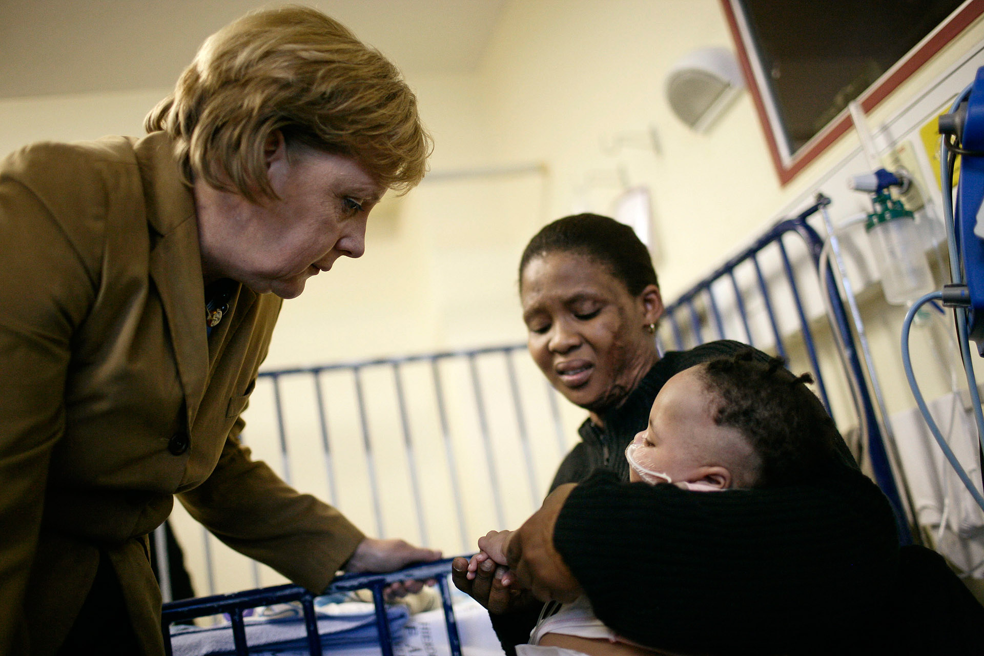 Merkel besucht Suedafrika