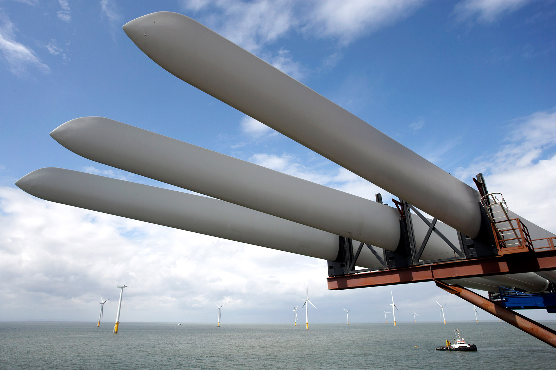 Siemens - Burbo Banks Windfarm